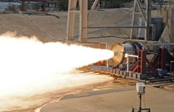 On Aug. 23, 2012, Aerojet's Low Earth Orbit (LEO)-7 second stage rocket motor successfully completed a hot-fire test at the Air Force Research Laboratory at Edwards Air Force Base in California.