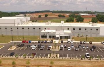 June 07, 2019 - AR's new 136,000 square-foot Advanced Manufacturing Facility, 7800 Pulaski Pike, Huntsville, Alabama, will produce advanced propulsion products (e.g., solid rocket motor cases & other hardware for critical U.S. defense & space.
