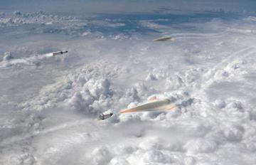 Artist's concept of Glide Breaker. Credit: DARPA
