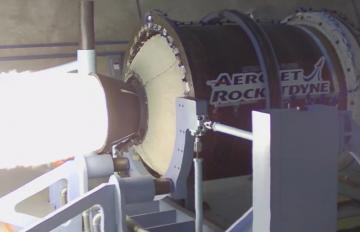 Aerojet Rocketdyne's successful test of the eSR-73 advanced large solid rocket motor
