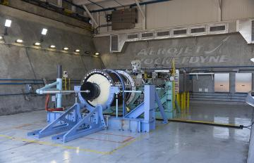Aerojet Rocketdyne's eSR-73 advanced large solid rocket motor