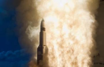 March 26, 2020 - Raytheon and Aerojet Rocketdyne provide propulsion systems for Raytheon's Standard Missile family.