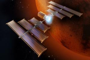 Solar Electric Propulsion vehicle concept.