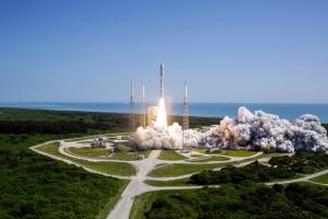 June 24, 2016 - Aerojet Rocketdyne Propulsion Supports Launch and Flight of U.S. Navy's Fifth Mobile User Objective System (MUOS) Satellite. Credit: ULA