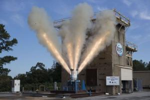 Aerojet Rocketdyne's jettison motor for Orion's Launch Abort System successfully completed its second qualification test at Redstone Arsenal.